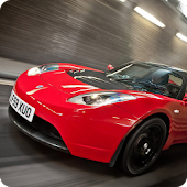 Tesla Roadster Live Wallpaper