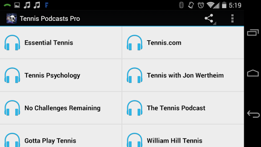 Tennis Podcasts Free