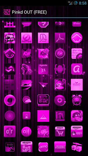 Pink'd OUT Icon THEME ★FREE★
