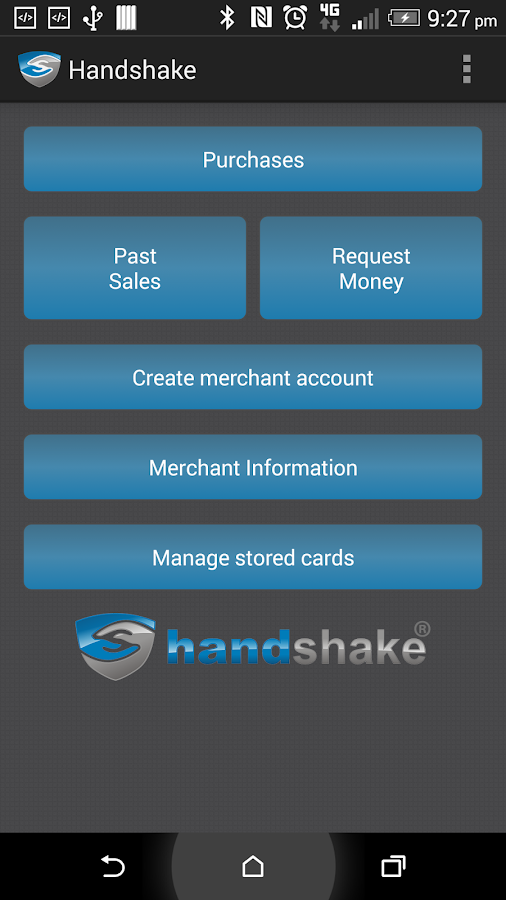 Handshake- screenshot