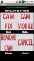 Screenshot of Cam Tag Lite, Speed Cameras