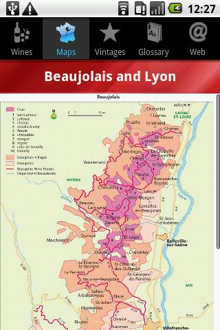French Wines- screenshot