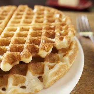Crunchy Pecan Waffles.