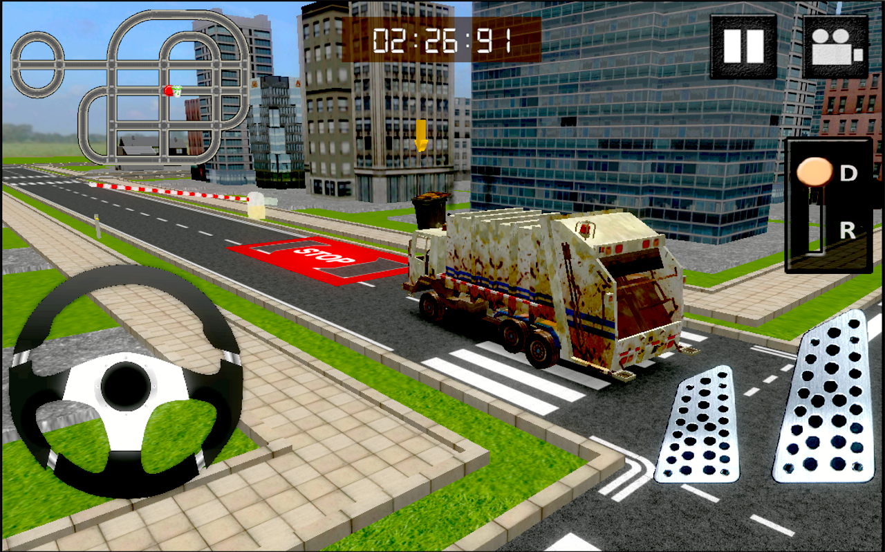 garbage truck driver 3d android apps on google play