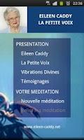 Screenshot of La petite voix - Eileen Caddy