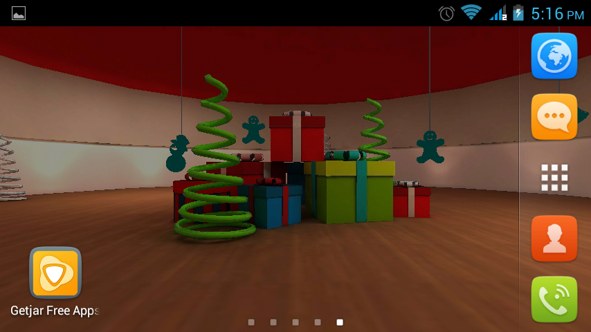 Christmas 3D LWP HD - screenshot