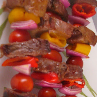 Steak and Pepper Kabobs