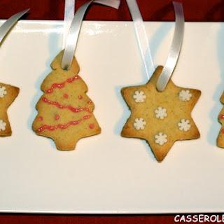 Vanilla Shortbread Cookies.