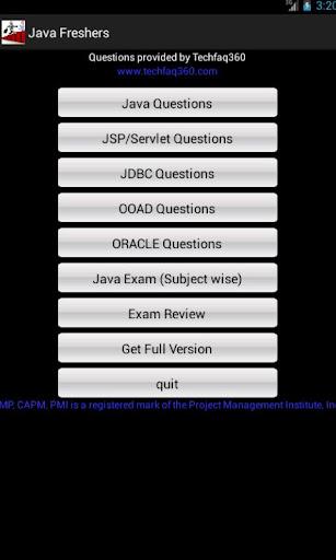 Java Fresher's Success Secret