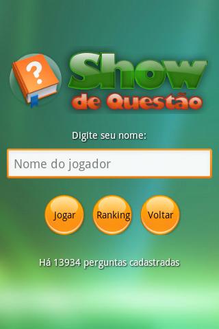Show de Questão 2015
