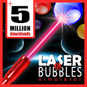 bubble shooter laser simulated