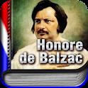 AUDIOLIBRO: Honoré de Balzac logo