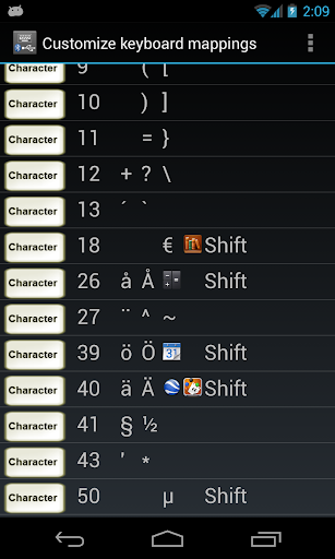 External Keyboard Helper Demo 7.4 screenshots 8
