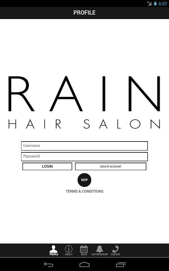 Rain Hair Salon - screenshot