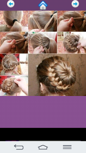 Cute girl hairstyles 2018 Screenshot