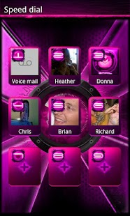 Pink DX/DX2 GO Contacts EX - screenshot thumbnail