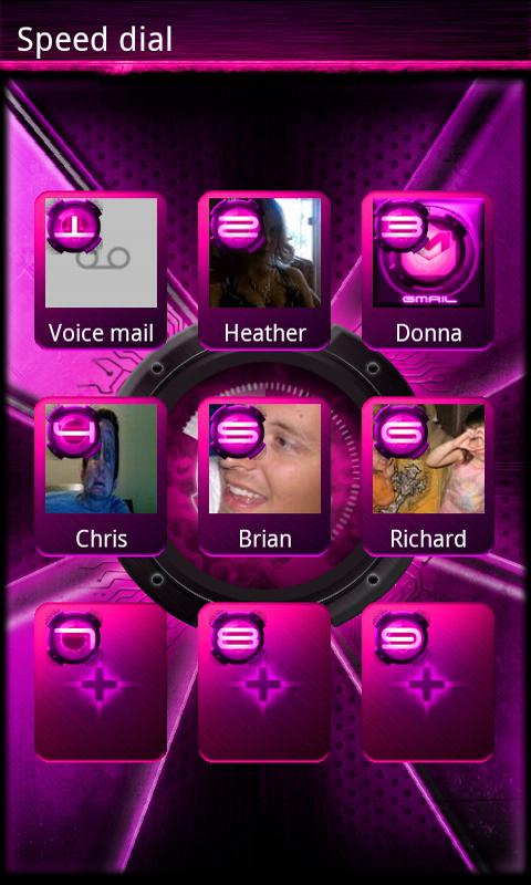 Pink DX/DX2 GO Contacts EX - screenshot