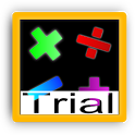 Mental arithmetic trial icon