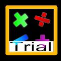 Mental arithmetic trial icon
