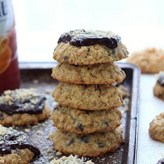 Hazelnut Chocolate Chip Oatmeal Cookies.