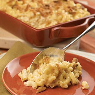 Creamy Four-Cheese Macaroni.