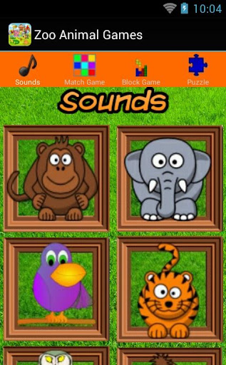 Zoo Animal Games