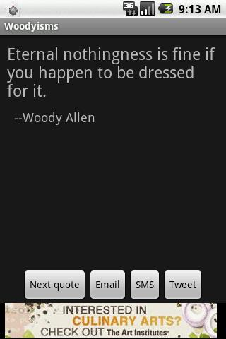 Woodyisms - screenshot