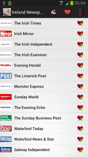 爱尔兰的报纸和新闻