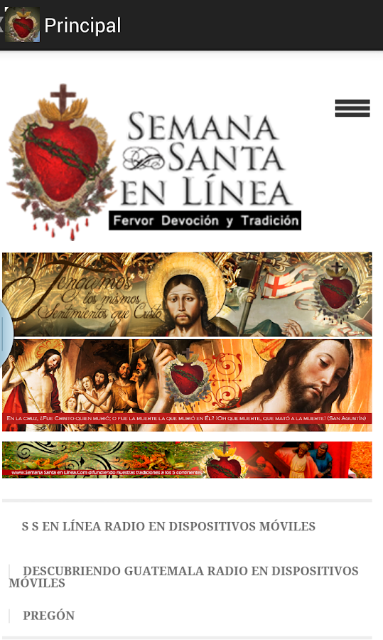Semana Santa en Linea Movil- screenshot