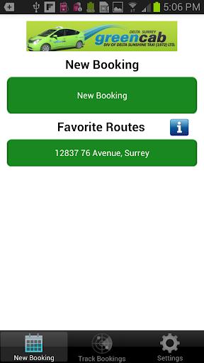 Delta Surrey Green Cab