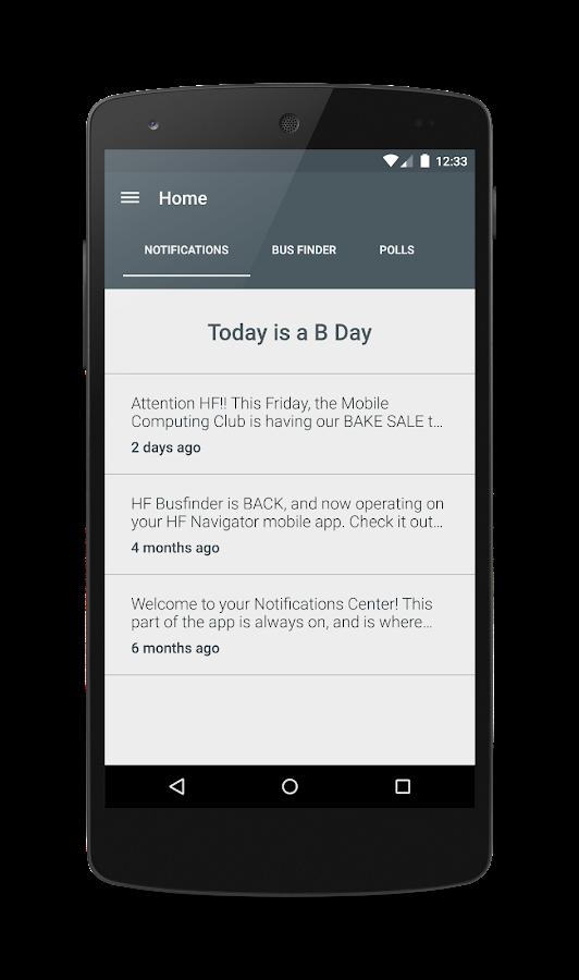 HF Navigator- screenshot