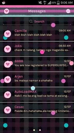 Vanilla Twilight GO SMS