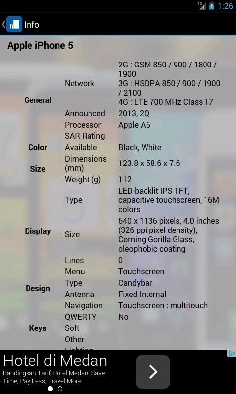 Harga Handphone - screenshot