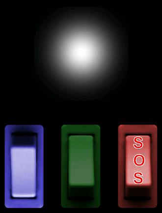 LED手电筒SOS信号加