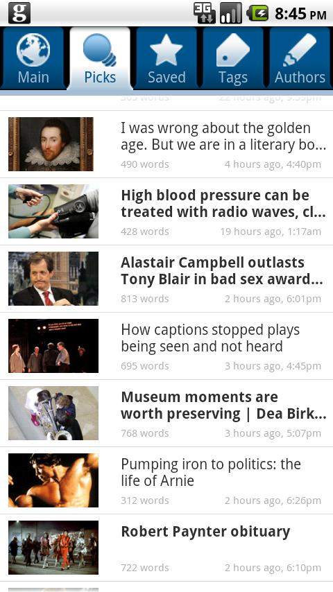The Guardian Anywhere - screenshot