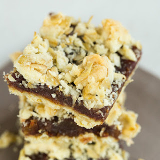 Maple-Date Bars