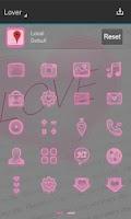 Screenshot of Lover Next Launcher 3D Theme