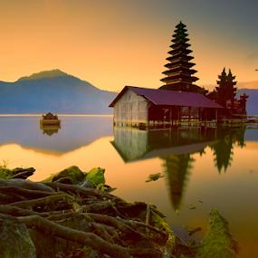 Batur by I Komang Windu - City,  Street & Park  Vistas ( canon, temple, bali, lake batur, lake, sunrise, travel photography,  )