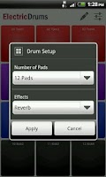 Screenshot of Electric Drums Free