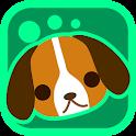 Shaky Pets Dogs Live Wallpaper icon