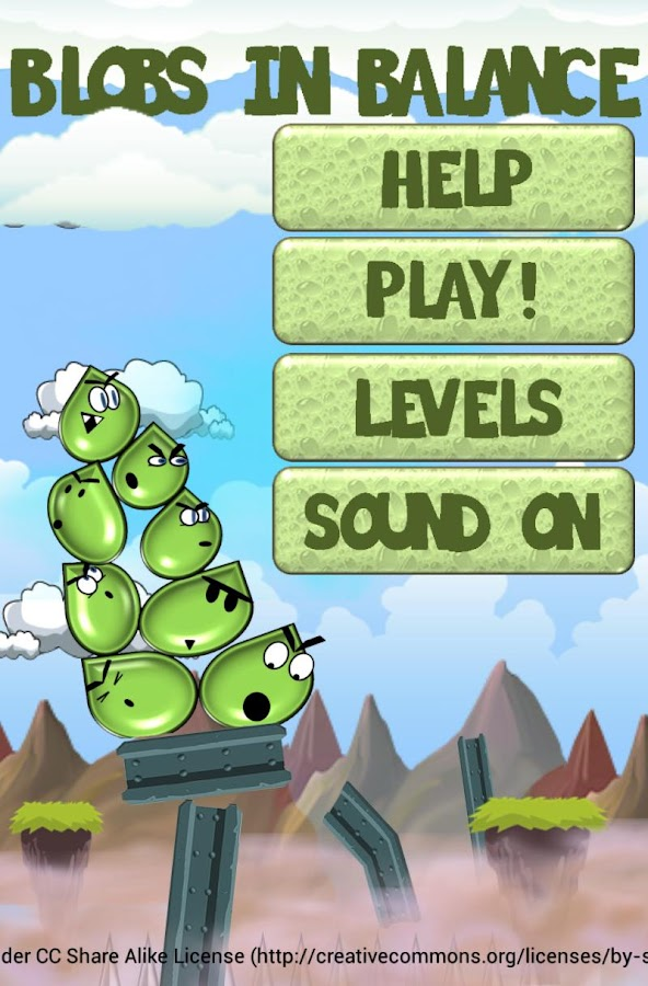 Blobs in Balance: Fun & Freaky- screenshot