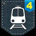 포켓철4 라이브- 지하철 네비게이션 logo