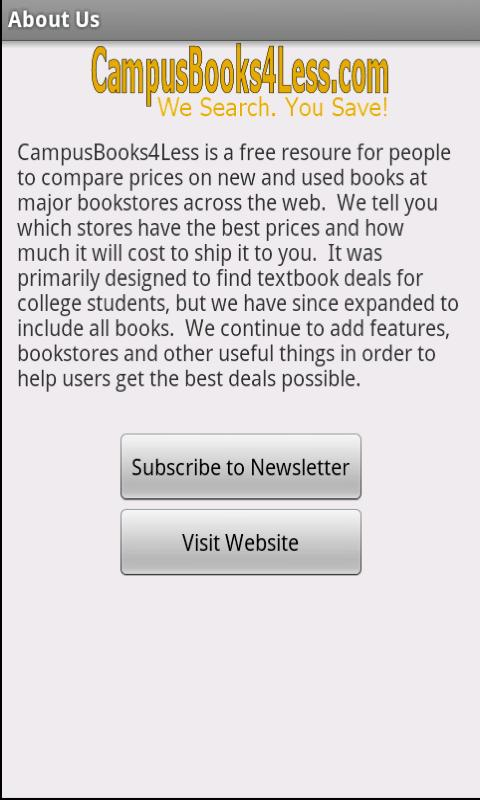 BookSearch - screenshot
