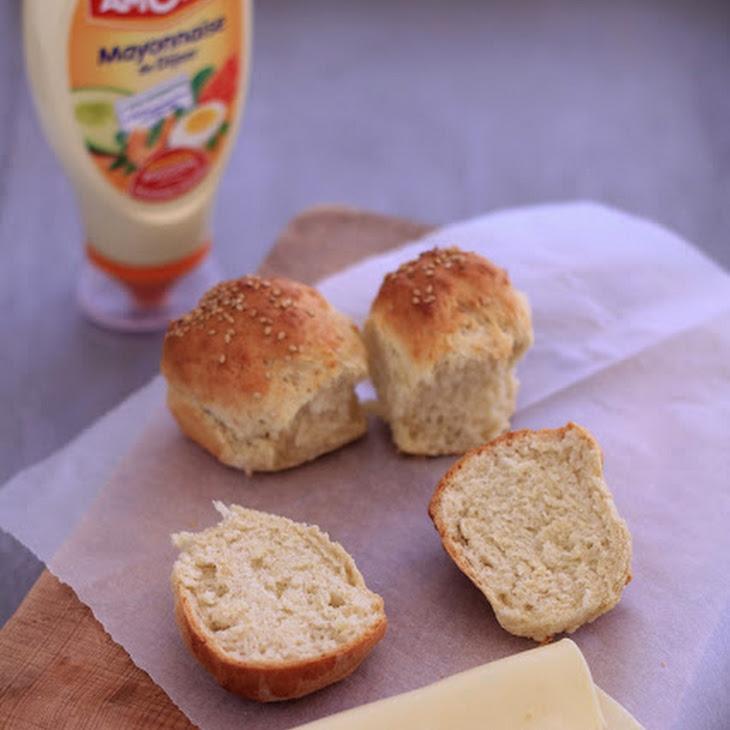 Amora Dijon Mayonnaise Muffins Recipe