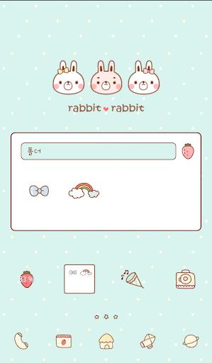 個人化必備APP下載 rabbitrabbit dodol theme 好玩app不花錢 綠色工廠好玩App