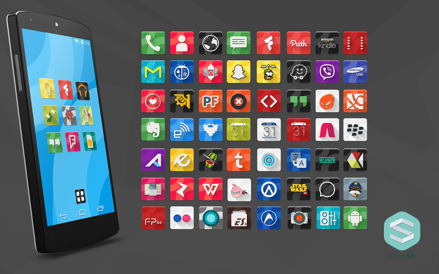 Aurelia Icons Theme - screenshot
