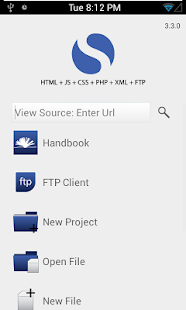 Spark Lite - HTML Editor FTP