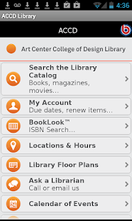 Art Center Library Mobile - screenshot thumbnail