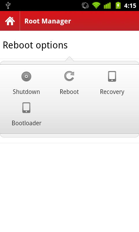 Root Manager - screenshot
