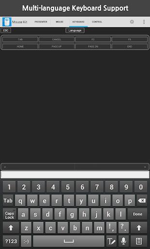 Mouse Kit (Keyboard+Presenter) 1.9.2 screenshots 9